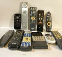 Mixed Lot of 11 Remote Controls RCASanyoPhillips Several Universal Remotes $19.69