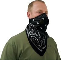 ATV-TEK ATV UTV Dust Mask Bandana Black BDMBLK