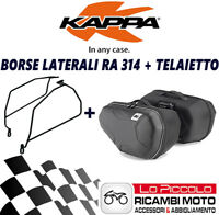KAWASAKI Z 800 2016 2017 KAPPA SIDE PANNIERS SEMI-RIGID RA314 + TE4109K + SET