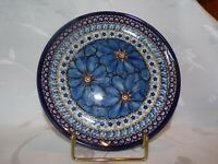 Unikat Polish Pottery SALAD/DESSERT/LUNCH PLATE 7.75