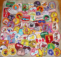 Lot of 114 Vintage  Emboidered Patches  Snow machines  Perfect for Flea Markets
