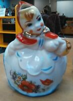 2- Vintage 1940's Hull Little Red Riding Hood Sugar and Creamer  Antique