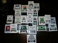 Hess toy truck lot 1993-2011