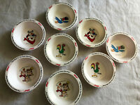 Vintage Kelloggs Cereal Bowls Set Of 8 The Best To You Each Morning 1995 NIB
