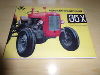 Massey-Ferguson 35 Tractor Limited Edition Canvas print 1 of 50 made agriculture