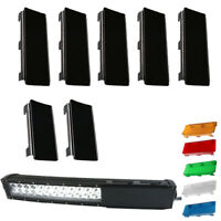 52inch Protective Lens Cover 5x 8quot; and 2x 6quot; For Offroad Truck ATV LED Light Bar