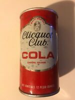 Vintage Clicquot Club Cola Soda Can Pull Tab  Indoor Can