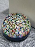 PERTHSHIRE PP220 SMALL MILLEFIORI PAPERWEIGHT