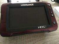 Lowrance HDS 7 gen 2 touch FREE SHIPPING !!