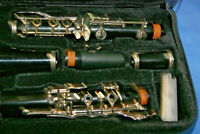 Used Hisonic B Flat Clarinet With Case & EXTRAS Great for Beginner or Student
