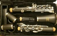 Eastar B Flat Clarinet Black Ebonite With Mouthpiece with Case
