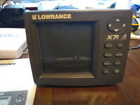 lowrance x71 Depth/Fish Finder
