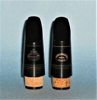 2 Vintage 1960s Golden Era Buffet Chedeville Mouthpieces for Buffet R13
