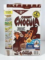 Vintage 1978 General Mills Count Chocula Monster Cereal Box Kids Food Halloween