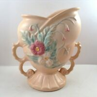 Hull Art Pottery Vase Pale Pink Heart Shaped Wildflower Measures 6.25 Tall No 54