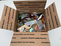 Stained Glass 10 LBS Scrap Glass - Various Sized Pieces - MIXED COLORS Lot 2