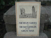 Vintage Michelin Guide to the Battlefields of the Great War Booklet