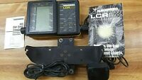 HUMMINBIRD LCR 2000 Fish Finder And Transducer/ wires (( Untested)) TAKE OFF