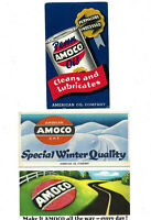 Vintage Amoco Oil amp; Gas Ink Blotters......Lot of 3 Different
