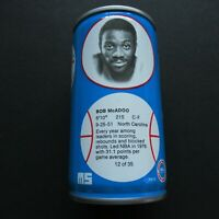 1979 NBA Basketball Royal Crown Cola RC Can Bob McAdoo Detroit Pistons