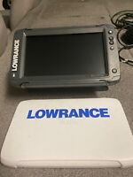 lowrance elite-9 ti, with Gimbal bracket, screen cover , and ram mount.