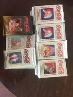 Collect-A-Card Coca Cola Series 3 and 4 Collector Packs - HUGE LOT - 100 packs
