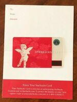 Starbucks Card 2002 Cupid Limited Edition with sleeve - New MINT Condition RARE