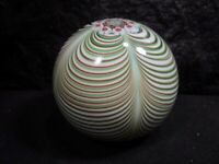 ORIENT & FLUME   JOHN DE WIT  Art Glass  Paperweight    -  Signed & Numbered