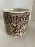 Vintage Ceramano Pottery W. Germany Feuerkrone 13 10 Bowl Cooking Pot