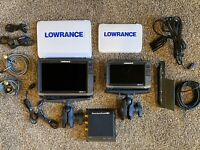 Lowrance HDS-12 G3 and Lowrance HDS-9 G3, StructureScan HD With Transducers