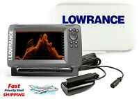 Lowrance Hook2 7 - HDI Splitshot Transducer & Us Inland Maps with Free Suncover