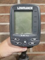 fish finder lowrance x-4 pro no transducer good condition w/ Ram Mount