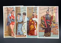 Lautz Bros. & Co. Acme Soap Oriental Asian themed Advertising Trade Card, Lot/4
