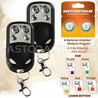 2 For Chamberlain Liftmaster Garage Door Opener Remote 891LM 893LM Keychain $19.95