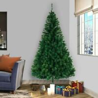 8FT Christmas Tree Stand Indoor Outdoor Holiday Season Artificial PVC NEW