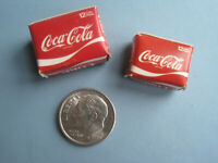 Coca Cola Miniature 12 Pack Box set of 2