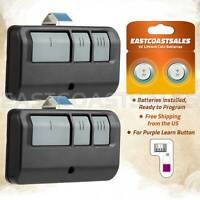 2 For Chamberlain 373LM 374LM 3 Button Garage Door Opener Remote Control 315MHz $19.95