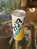 Coca-Cola Fanta Pine Fruit Can 1987 250ml SEALED Japan F/S Excellent Pull Tab