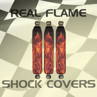 Yamaha Raptor 50 80 Real Flame ATV Shock Cover #M202893