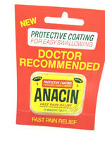 Collectable  medicine  tin with  packaging - ANACIN,PROTECTIVE COATING PACKAGE.