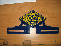 AAA California porcelain license plate topper