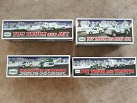 Hess Toy Trucks 2010,2011, 2012, 2013   New in Box - FREE SHIPPING  FREE GIFT