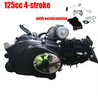 125cc 4Stroke ATV Engine Motor Semi Auto Electric Start 7.64HP Single Cylinder
