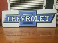 Large Chevy chevrolet sign Gas Oil
