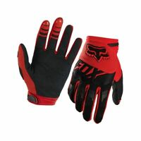 Motocross Dirtbike MX ATV Mens Riding Fox Racing Dirtpaw Race Gloves RED