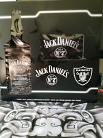 Raiders Jack Daniels Collectible With Hat