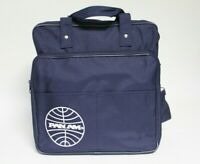PAN AM Airlines Vintage Navy Blue Carry On Bag