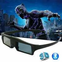 Blue tooth Active Shutter 3D Glasses for Epson Projector Samsung 3D Tvs Charging $21.74