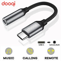 Universal For Samsung Type C to 3.5mm Aux Audio Headphone Jack DAC Cable Adapter $8.98
