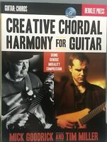 Creative Chordal Harmony for Guitar: Using Generic Modality Compression GUITAR $15.00